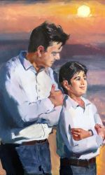 Manoochehr Khatami, Father and son