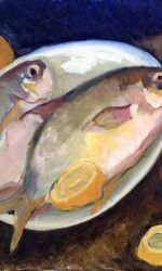 Ginger Steketee, Still life with fish